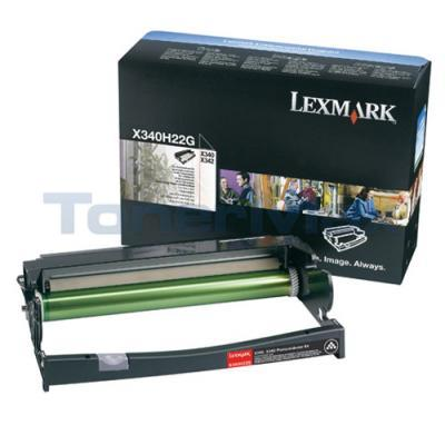 LEXMARK X340N PHOTOCONDUCTOR KIT BLACK